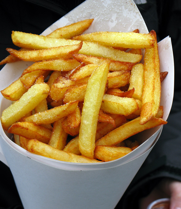 How to Make Belgian Fries