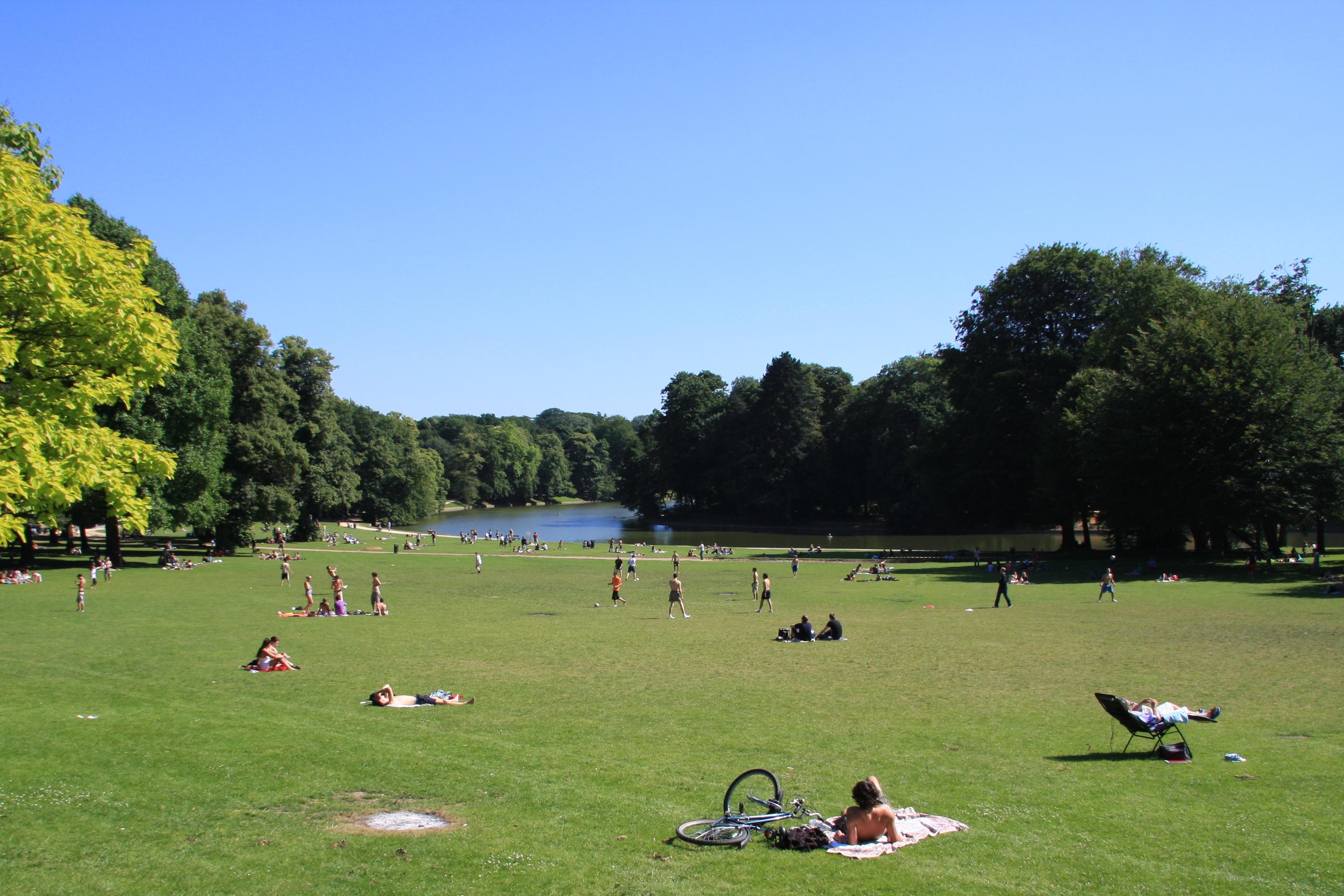 Park best of brussels for Bois de la chambre