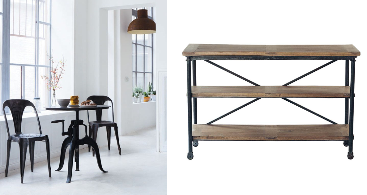 Maisons du monde best of brussels for Maison du monde table