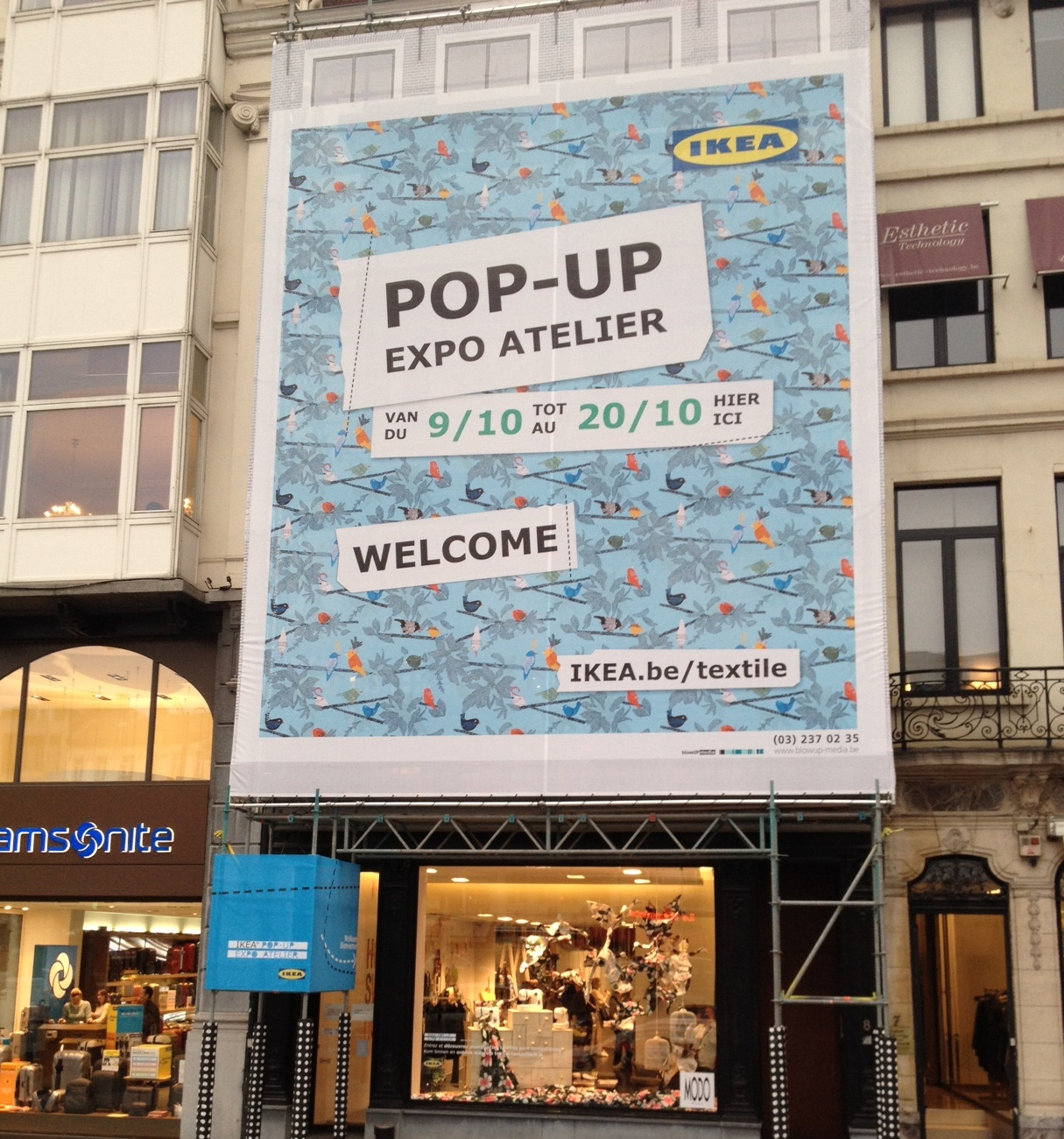 Ikea Popup Atelier Best Of Brussels - Ikea world map sale