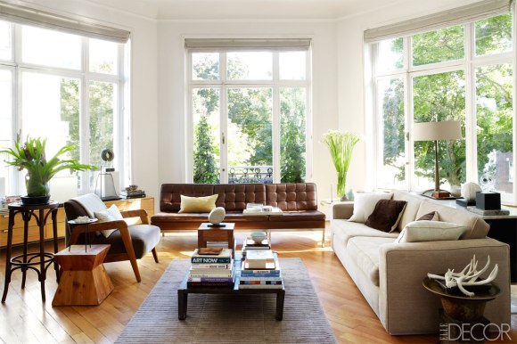 Elle Decor - An Eclectic Home in Brussels