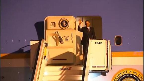 Obama in Brussels